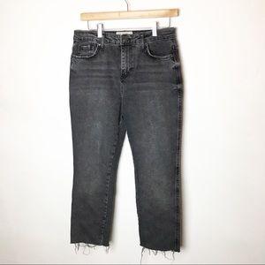 SZ 29 Free People Gray Crop Jeans
